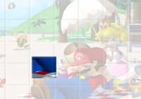 لعبة تجميع صور ماريو