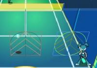 لعبة كرة اليد مع الروبوت