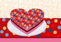لعبة تزيين كيك عيد الحب