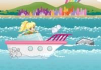 لعبة فتاة تنظيف البحر