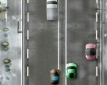 لعبة سيارات مدينة الثلج