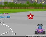 لعبة سباق سيارات كلاب