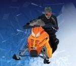 التزحلق على الجليد فى الشتاء