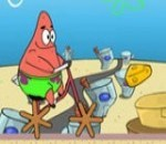 لعبة دراجة سبونج بوب وبسيط