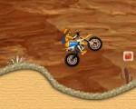 لعبة قيادة دراجة الصحراء