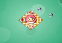 لعبة حماية حلوي الفتاه
