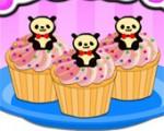 العاب بنات طبخ تحضير كب كيك الباندا