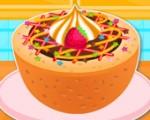 العاب بنات طبخ قالب الكعك