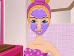 لعبة تنظيف البشرة بغسول الوجه