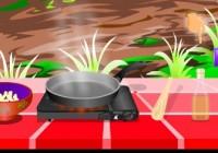 لعبة طبخ اكلات ريفيه