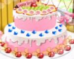 العاب بنات طبخ تحضير كعكة لذيذة