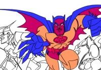 لعبة تلوين باتمان والاشرار