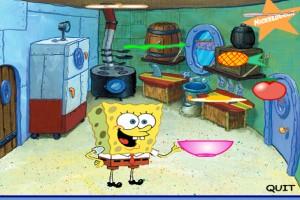 لعبة طبخ سبونج بوب الجديده