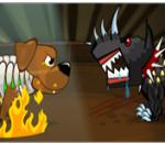 لعبة حرب الكلاب