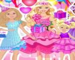 العاب بنات ستايل باربي حفلة عيد ميلاد باربى