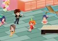 لعبة ديكور حفلات الاصدقاء