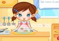 لعبة مطبخ بنات كيوت