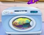 العاب بنات صغار منيون وغسيل الملابس