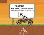لعبة مغامرة الدراجه الناريه