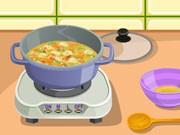 العاب طبخ الام السعيدة لابنائها