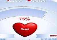 لعبة قياس الحب 2016