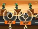 العاب تفجير الزومبي بالقنابل