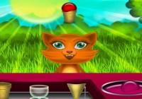 لعبة ايس كريم القطط