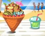 العاب بنات طبخ تحضير مثلجات الصيف