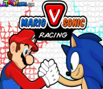 العاب سباق سونيك وسوبر ماريو