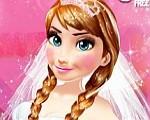 العاب بنات تلبيس حفل زفاف آنا