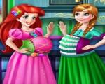 لعبة توليد الأميرة آنا وآرييل
