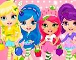 العاب بنات تلبيس تصميم أزياء فتيات ستروبرى
