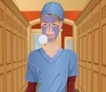 العاب تنظيف البشرة فى المستشفى
