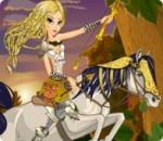 العاب تلبيس الاميرة على الحصان