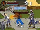لعبة مصارعة الشوارع
