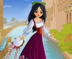 العاب بنات تلبيس ملابس العيد