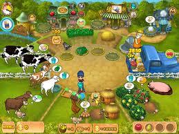 العاب المزارع والبقر