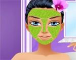 العاب تنظيف البشرة والوجه والمكياج للبنات