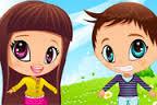 العاب تلبيس اطفال بنات 2013