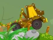العاب سيارات نقل الخشب