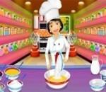 العاب طبخ كيكة اسفنجية