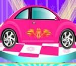 العاب السيارات الوردية