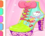 19f88cf1d العاب بنات يومية تصميم أحذية هاللو كيتى