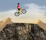 لعبه تحديات الدراجات على الجبال