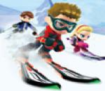 لعبه التزلج على جبال الثلج
