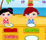 لعبه مطعم الشاطئ