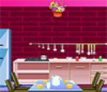 لعبه المطبخ الوردى
