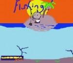 لعبه صيد السمك