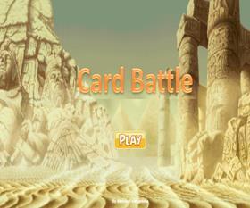 لعبه بطاقات المعركة