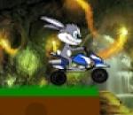 العاب مغامرات الأرنب بالدراجه